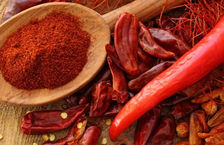 Reduce hot spicy taste when eating chili