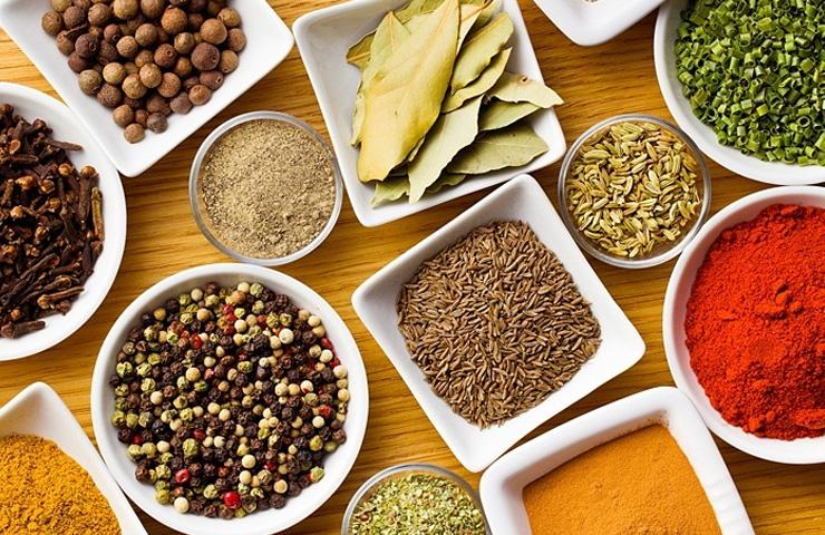 The healing properties of some spices