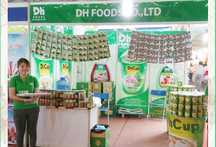 DH Foods at the 2016 Consumption Promotion Fair