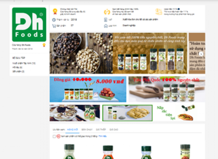 Purchuse Dh Foods products on TIKI.vn